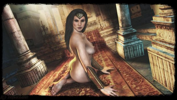 Wonder Woman(movie)  sexy  wallpaper2 by ethaclane