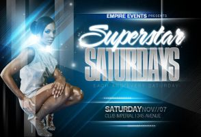 Superstar Saturdays-Blue by ImperialFlyers