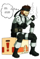 Solid Snake Collab by MTC-Studio