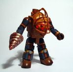 Big Daddy (Bioshock) Custom Minimate by luke314pi