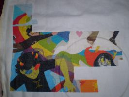 Homestuck Cross Stitch WIP Oct 09, 2012 Update! by ChandrakantaAvani