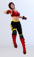 Mila 3DS Render 4 by x2gon