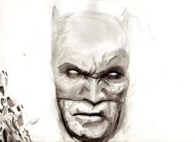 Batman watercolor by ChrisFischer