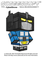 Cubeecraft - Magnus 'Diaclone' by CyberDrone