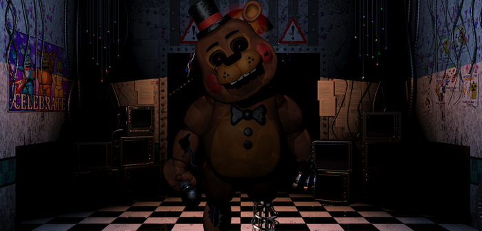 Withered Toy Freddy by GarchompKing1216