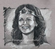 Lynda Carter as Wonder Woman by scotty309