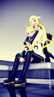 TDA Future Style Rin and Len by ARTonette