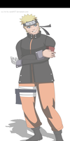 Naruto Uzumaki The Last Full Body by Sarah927
