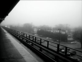 Foggy Afternoon by blackheartedlove