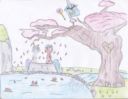 CONTEST ENTRY: THE FOREVER LOVE GARDEN by Montiessor