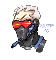 soldier 76 by Themagicalme