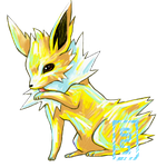 Jolteon I Choose You by cerasly