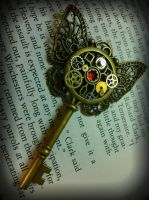 Bio-Butterfly Fantasy Key by ArtByStarlaMoore