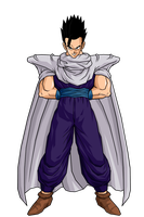 Mystic Gohan Piccolo Costume by jeanpaul007