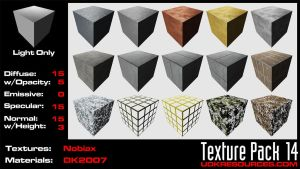 UDK Texture Pack 14 by DK2007