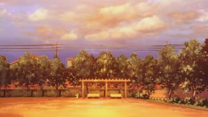 Clannad Sunset Park Clean by night-wolf23