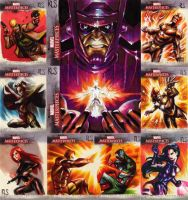 Marvel Masterpieces 3 Proofs by ronsalas