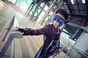 Arrest Rose - kaito 02 by Phoenixiaoio