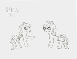 'You're A Girly Pony...' by Rosethethief