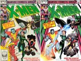 X-men cover recreation by Reverie-drawingly