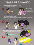 Baba VS Aswang/Manananggal by simpleguyfa