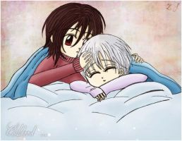 Childhood ~ Vampire Knight Fan Art by X-Spread-Wings-X