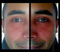 Eye Manipulation photo enhance by xflowz