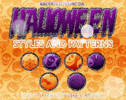 Halloween Styles and Patterns by radiatelovemc