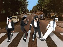 Michael and The Beatles by dessimondo