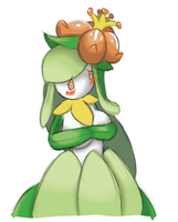Cute Lilligant by TheTransformTentacle