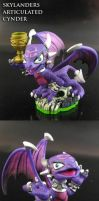 Skylanders articulated Cynder by Jin-Saotome