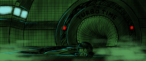 Escaping from Turbo Time by Obrut-Time