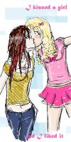 I Kissed a Girl by WeebleClock