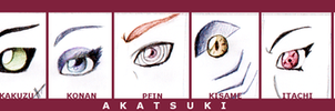 With These Eyes...--Akatsuki by WingsOfLight