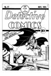 Detective Comics #27 (batman) cover recreation by PTGould