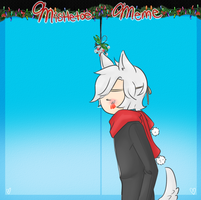 Mistletoe meme - Rocha by Ask-WolfPrince