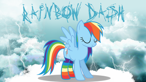 Rainbow Dash Wallpaper by Rainz05