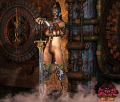 Time Maiden 01 by UncleSickey