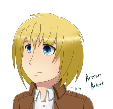 Armin Arlert by Electric-Empire