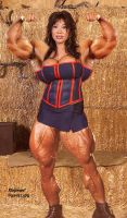 Pumped Ava, legs chgd by xbgmusf