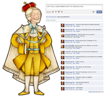 Facebook - King George III by ARISTOCREEP