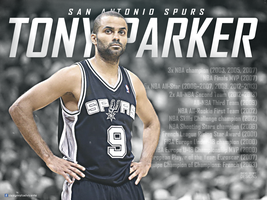 Tony Parker Career highlights and awards by RafaelVicenteDesigns
