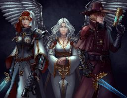 Lorraine, Zayel and Sangremont by Neirr