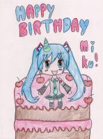 Happy Birthday Hatsune Miku by MagicalMadoka