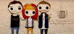 Cartoon Paramore by Little--Decoy