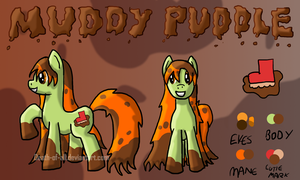 Muddy Puddle reference sheet by Death-of-all