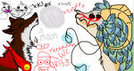 Iscribble with mah bby by busterwolfdragon
