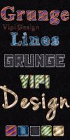 Grunge Lines Styles by elixa-geg