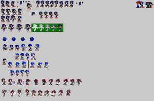 Slader sprite sheet (10% progress) by JoseRycad5
