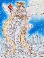 Neo Queen Serenity in Moonlight by TinyQ